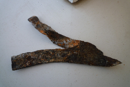 Corroded wall tie
